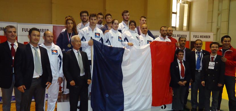 La délégation française • © DR
