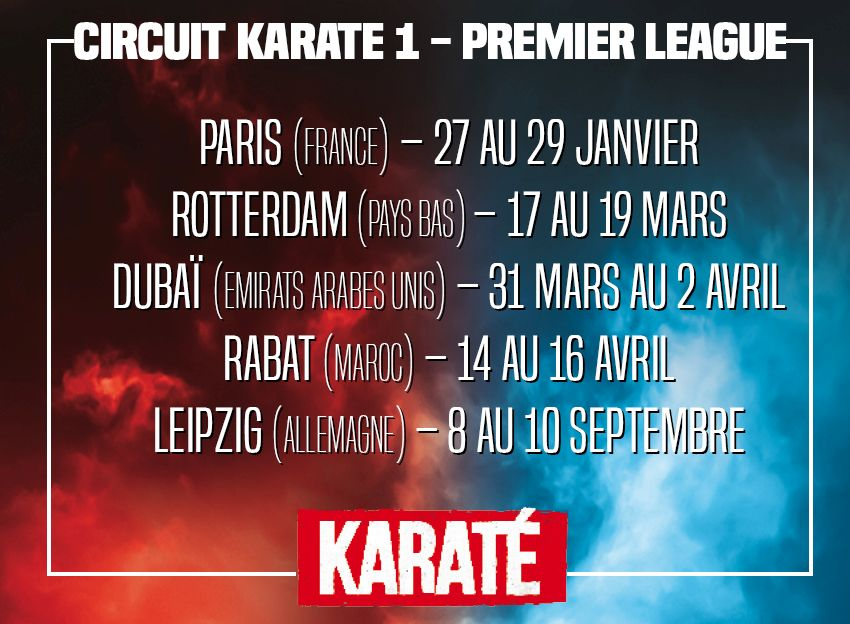 Circuit karate 1 - premier league