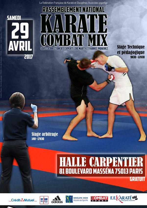 Affiche - Karate Combat Mix