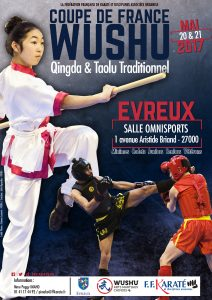 Affiche - Coupe de France Qingda et Taolu Traditionnel