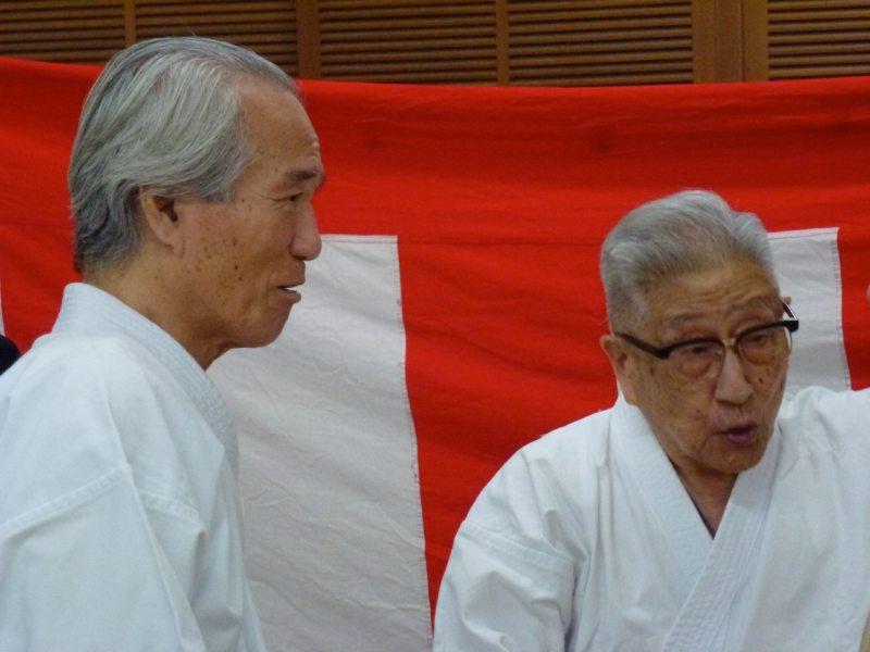 En 2011, à Waseda pour le 80ème anniversaire