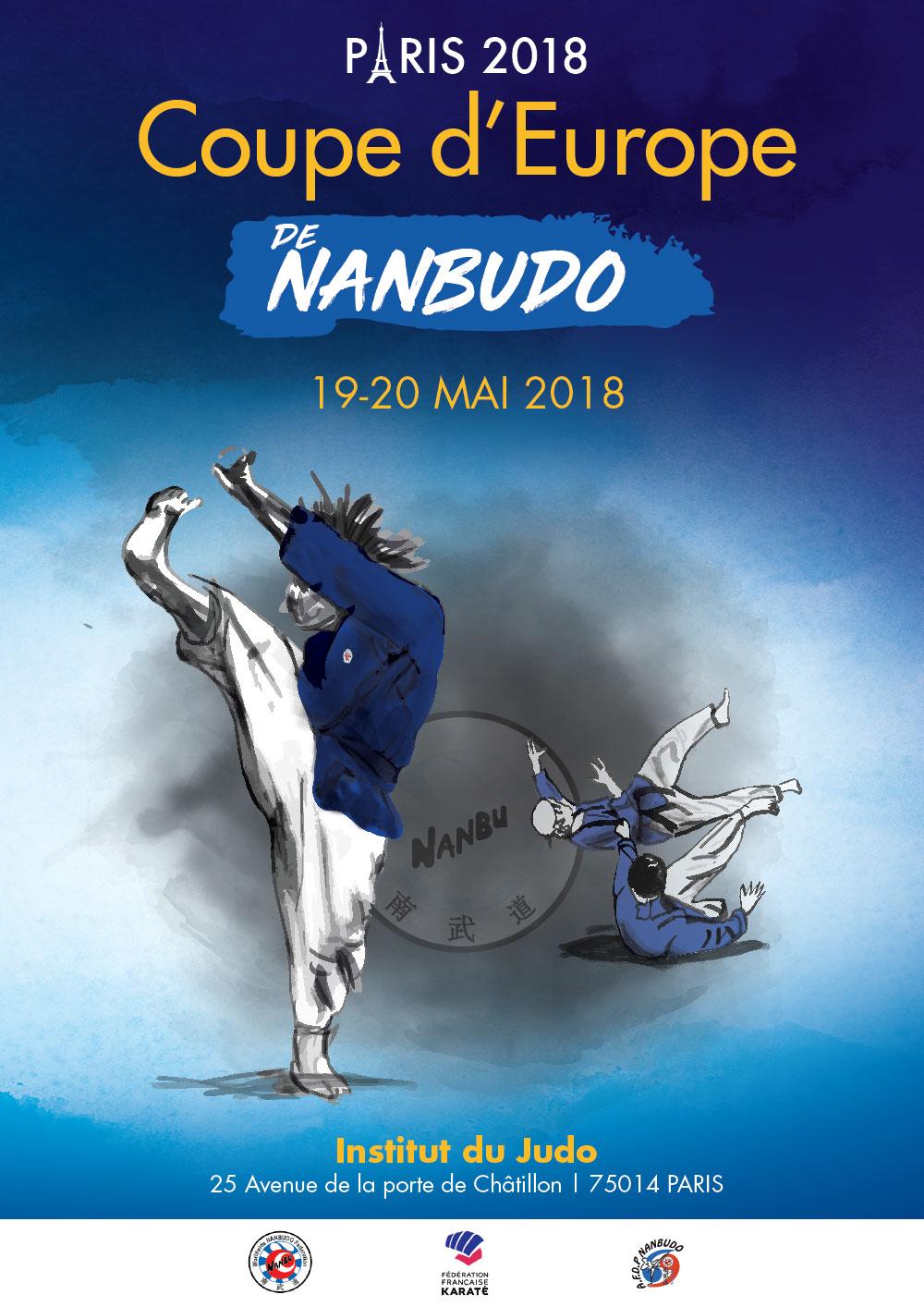 La france accueille l euro de nanbudo actualit - Institut national du judo porte de chatillon ...