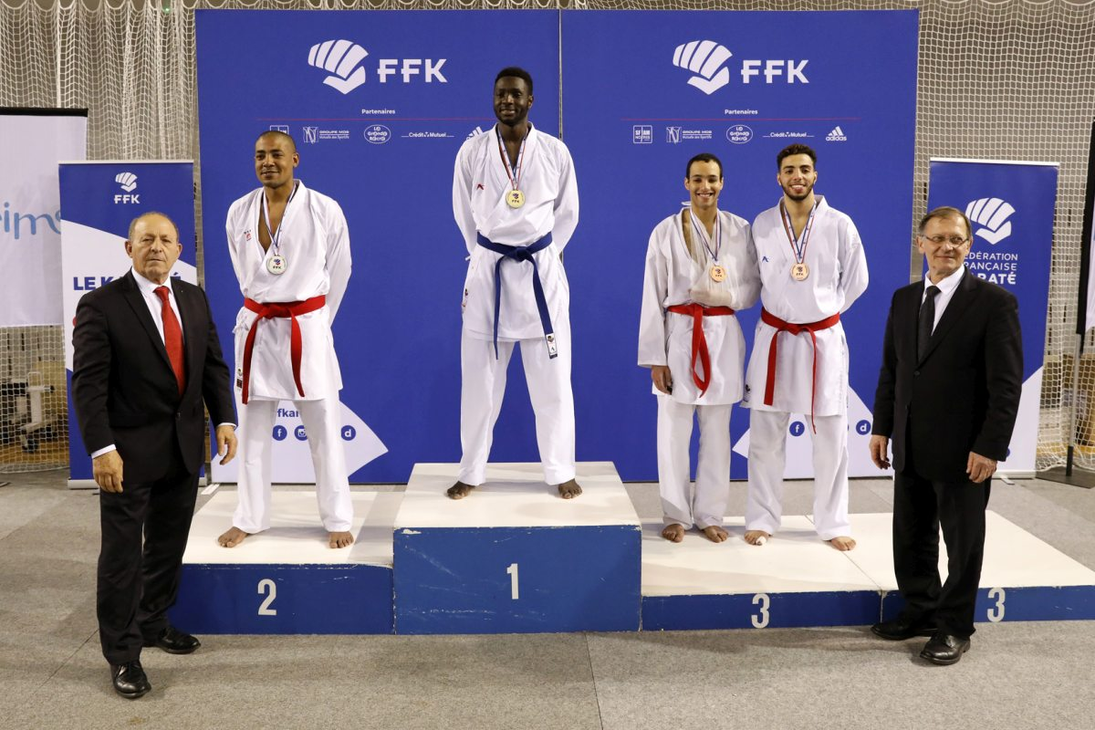 Mehdy sur le Podium de France