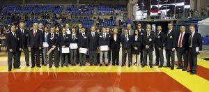 Les jeunes arbitres en concours à Villebon sur Yvette © D.Boulanger / FFK