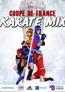 Affiche - Coupe de France Karaté MixVDef