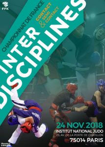 Championnats de France contact et semi Interstyles - 24 novembre 2018