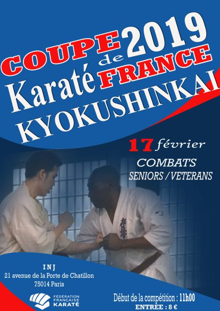Coupe de France kyokushinkai 2019