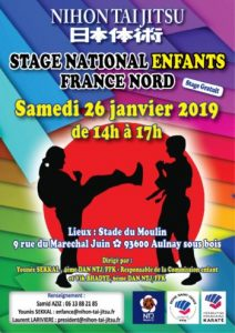 Affiche No10 Stage Enfants 2019 BR