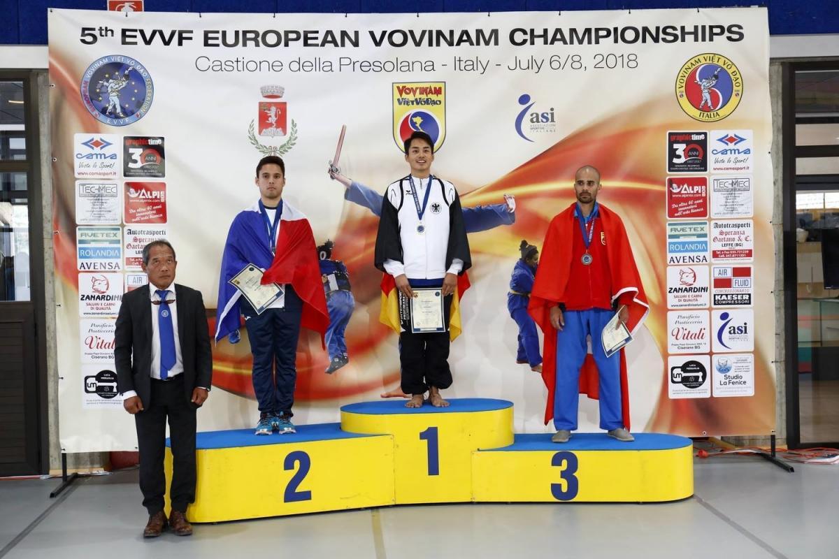 Robin Suddoruslan - Médaillé d'argent (NGŨ MÔN QUYỀN)