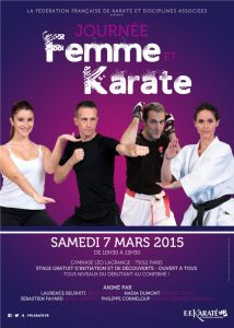 Visu_JourneeFemmeKarate2015_Affiche