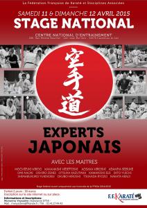 Stage_National_Experts_Japonais_110415_Affiche