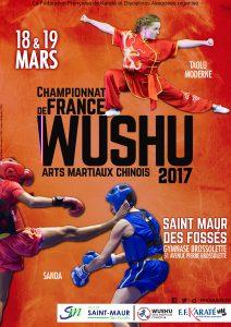 Affiche - Championnat de France Taolu et Sanda