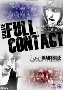 Affiche - Chpt National Full Contact Elite Honneurs